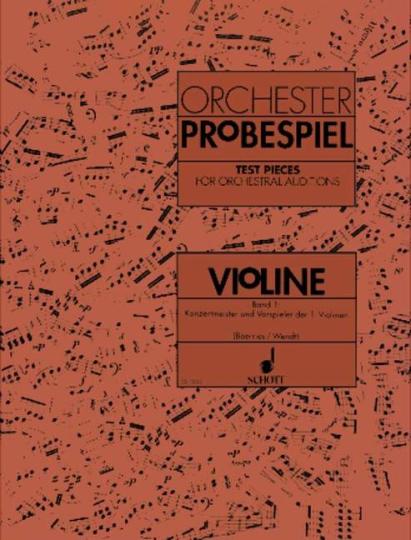 Orchester-Probespiel Violine - Band 1