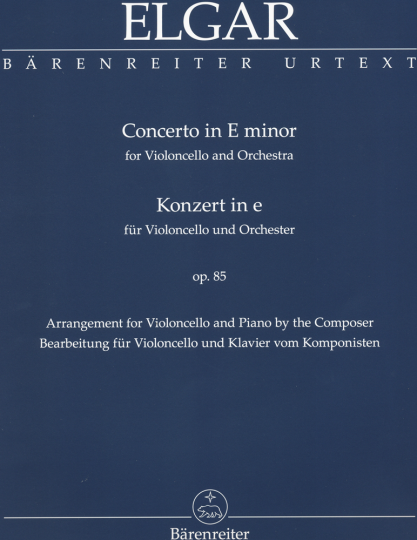 Elgar, Konzert E-Moll, Opus 85