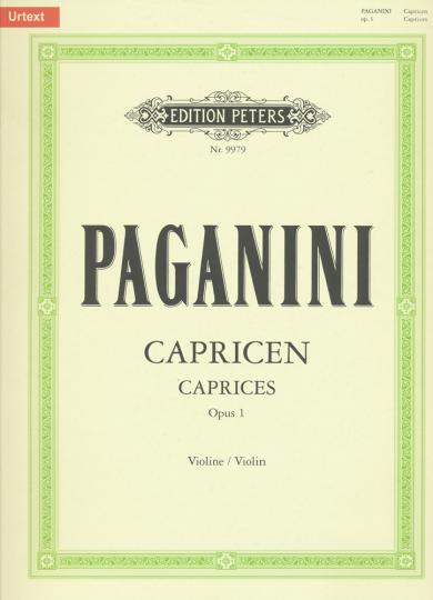 Paganini, Capricen, Opus 1