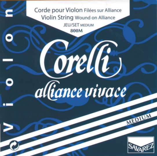 CORELLI Alliance muta per violino MI con sfera, medium