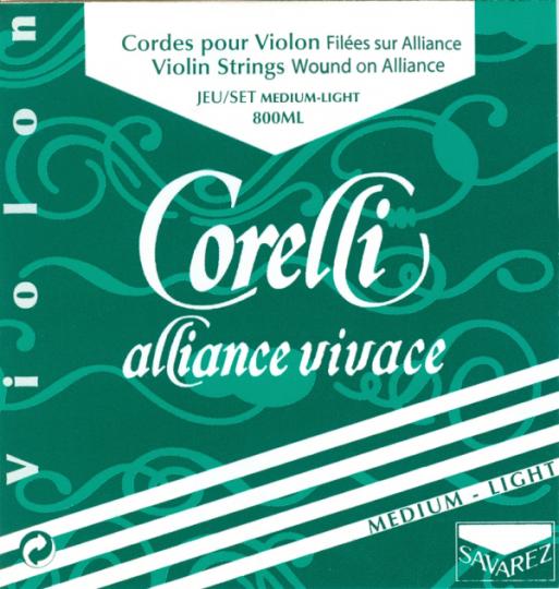 CORELLI Alliance corda RE per violno, medium light