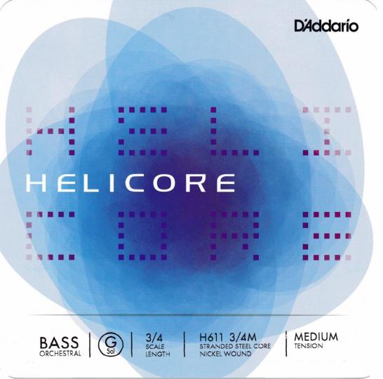 D´ADDARIO  Helicore muta per contrabbasso H, heavy