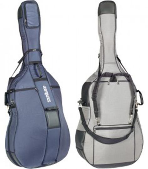 DIMBATH Hardwear borsa per contrabbasso blu marino