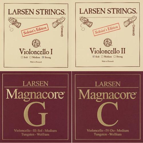 Larsen Soloist / Magnacore muta per violoncello, medium