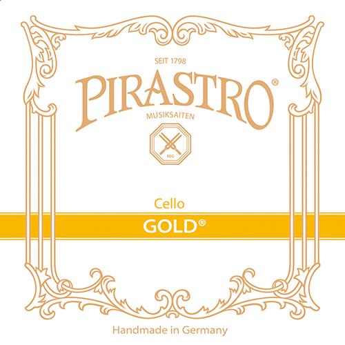 PIRASTRO Gold VIOLONCELLO CORDA RE, MEDIUM