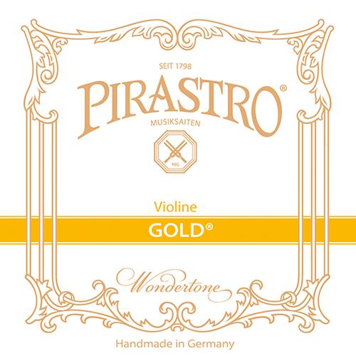 PIRASTRO  Gold per violino corda MI  con cappio, medium