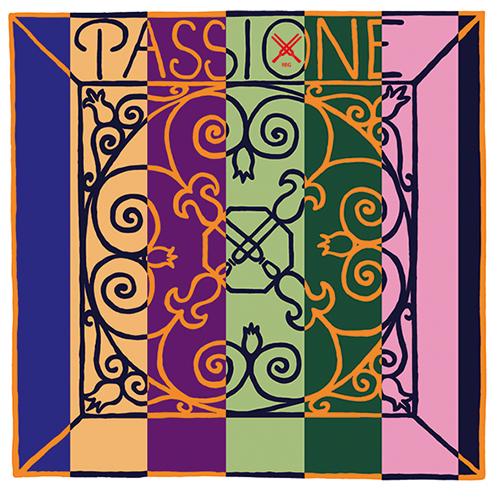 Pirastro Passione Solo muta per violino , MI con sfera, medium