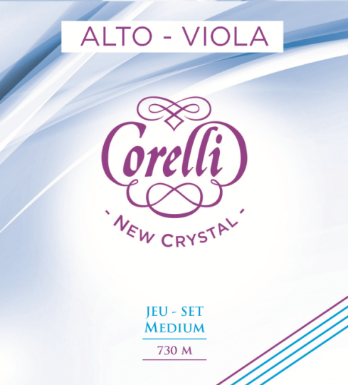 CORELLI  Crystal corda RE per viola, medium