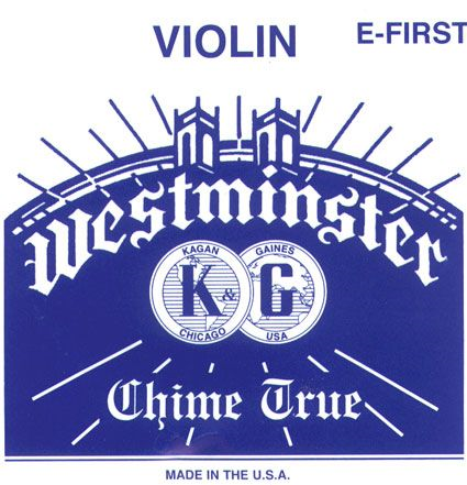 WESTMINSTER violino corda MI  con cappio
